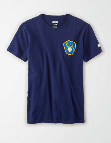 Tailgate Women's Milwaukee Brewers Graphic T-Shirt