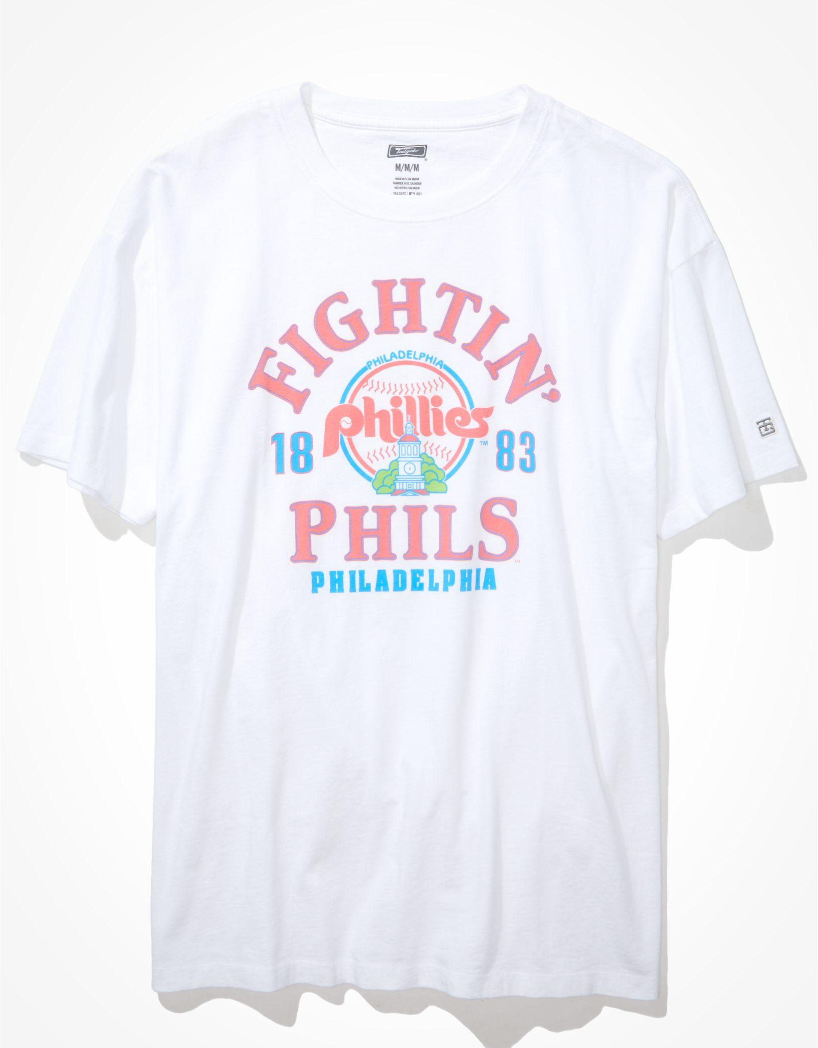 Tailgate Women's Philadelphia Phillies Oversized Graphic T-Shirt