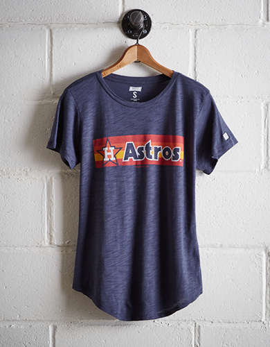 Tailgate Women's Retro Houston Astros T-Shirt - Free Returns