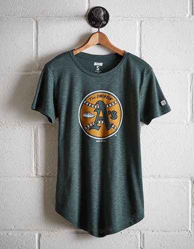 Tailgate Women's Oakland Swingin' A's T-Shirt - Free Returns