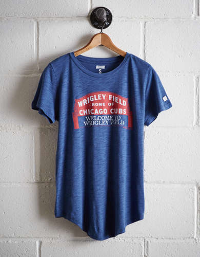 Tailgate Women's Chicago Cubs Wrigley Field T-Shirt - Buy One Get One 50% Off