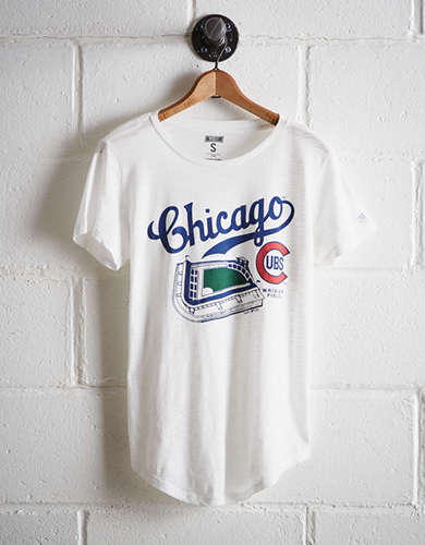 Tailgate Women's Chicago Wrigley Field T-Shirt - Free Returns