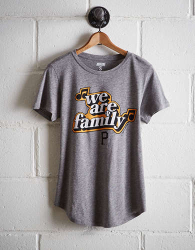 Tailgate Women's Pittsburgh We Are Family T-Shirt - Free Returns