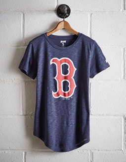 Tailgate Women's Boston Red Sox T Shirt by American Eagle Outfitters