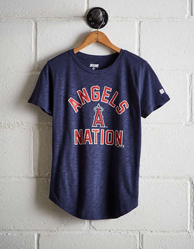 Tailgate Women's Angels Nation T-Shirt - Free Returns