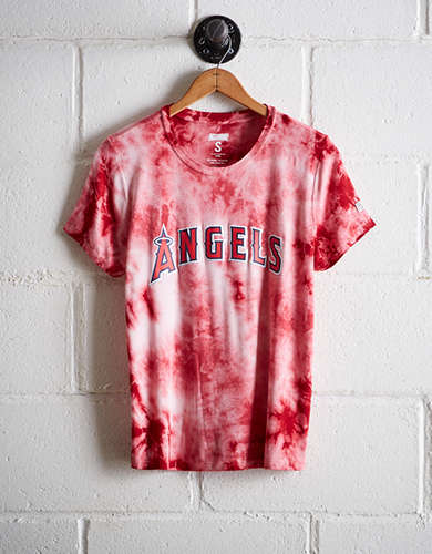 Tailgate Women's LA Angels Tie-Dye T-Shirt - Free Returns