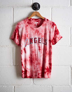Tailgate Women's LA Angels Tie-Dye T-Shirt