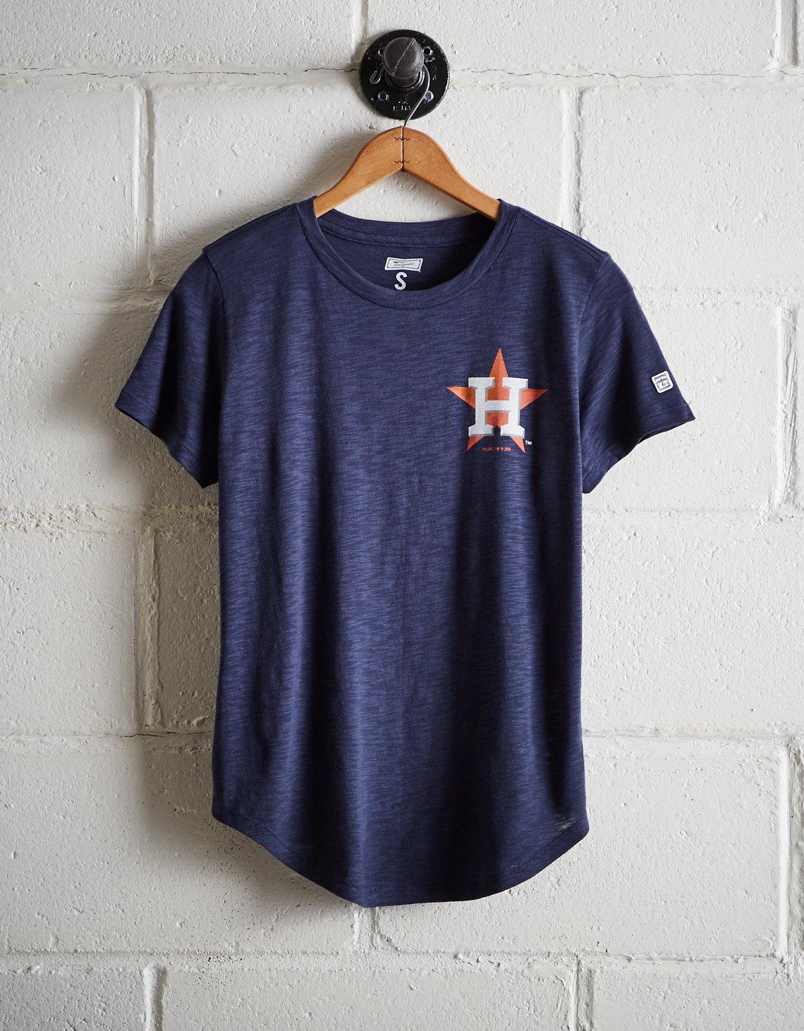 Tailgate Women s Astros Hustle Town T-Shirt. Placeholder image. Product  Image 4d357856c6