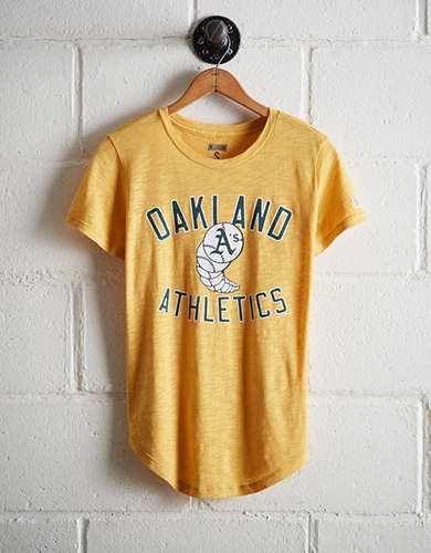 Tailgate Women's Oakland Athletics T-Shirt - Free Returns
