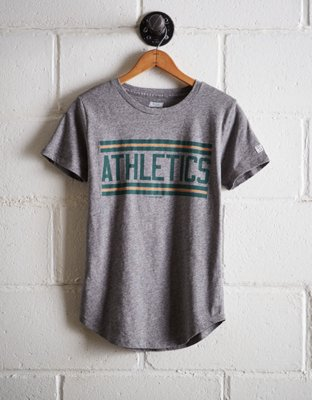 Tailgate Women's Athletics Chest Stripe T Shirt by American Eagle Outfitters