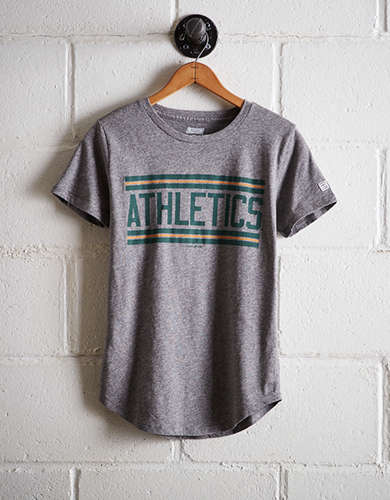 Tailgate Women's Athletics Chest Stripe T-Shirt - Free Shipping & Returns