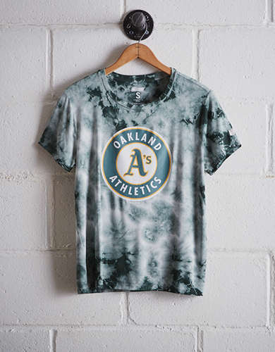 Tailgate Women's Oakland A's Tie-Dye T-Shirt - Free Shipping & Returns