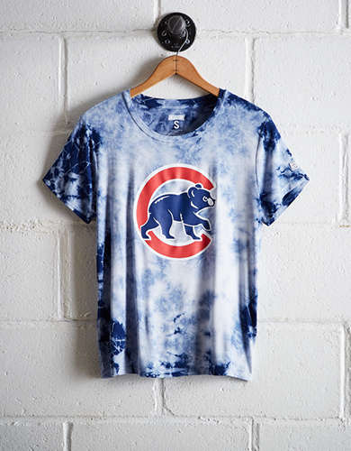 Tailgate Women's Cubs Tie-Dye T-Shirt - Free Returns
