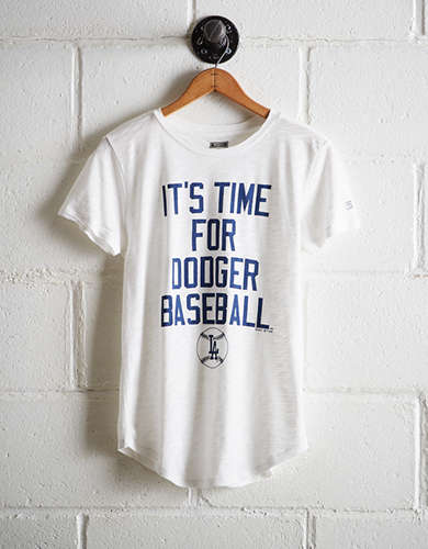 Tailgate Women's LA Dodgers T-Shirt - Free Returns