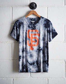 Tailgate Women's Giants Tie-Dye T-Shirt