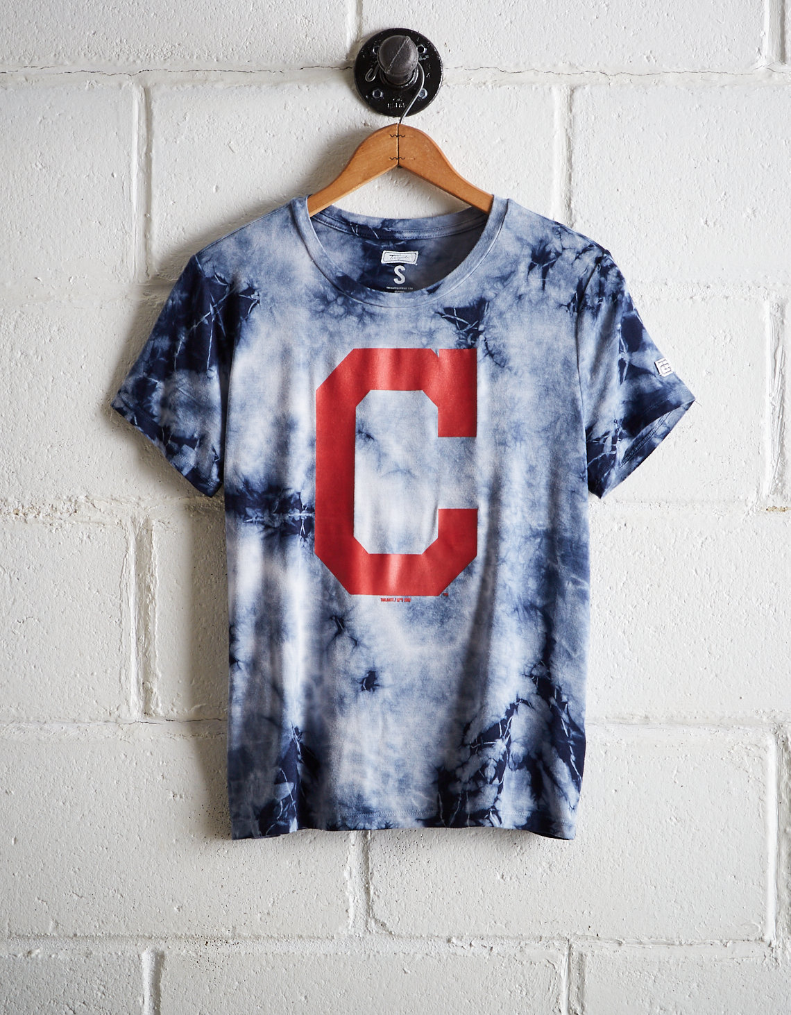 Tailgate Women s Cleveland Indians Tie-Dye T-Shirt. Placeholder image.  Product Image 1f3c0fd0bb