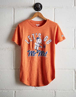 Tailgate Women's Let's Go Mr. Met T-Shirt