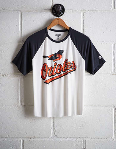 Tailgate Women's Baltimore Orioles Cut-Off Baseball Tee - Buy One Get One 50% Off