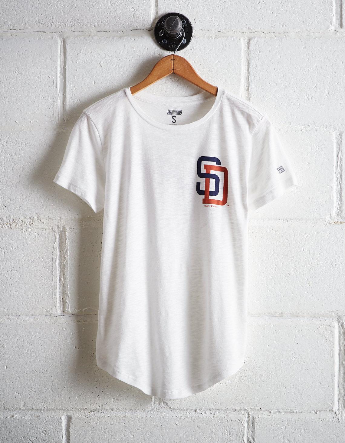 timeless design d98fd 01c11 Tailgate Women's San Diego Padres T-Shirt