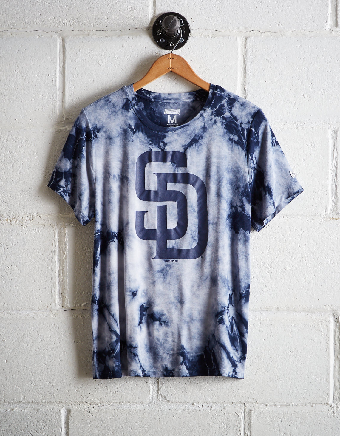 sports shoes 045ee 621e5 Tailgate Women's Padres Tie-Dye T-Shirt