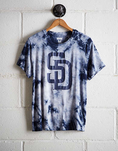 Tailgate Women's Padres Tie-Dye T-Shirt - Free Shipping & Returns