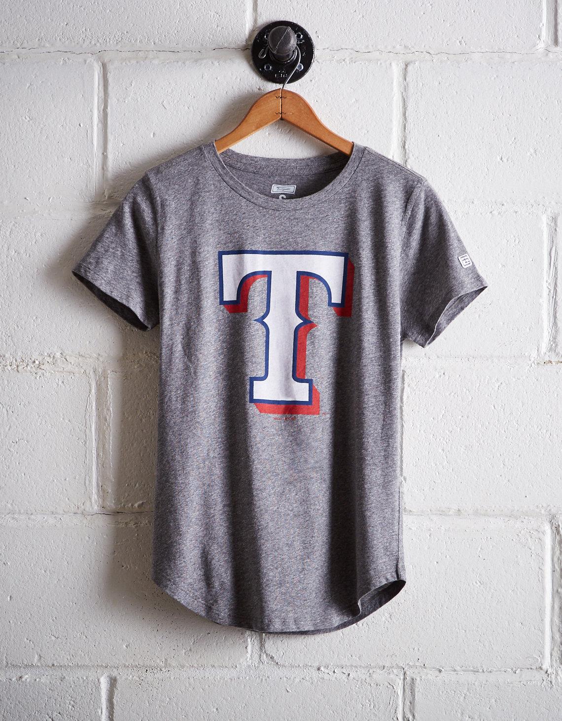 finest selection 7ea75 fb0ae Tailgate Women's Texas Rangers T-Shirt