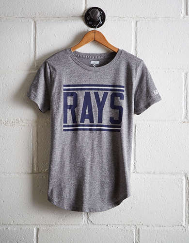 Tailgate Women's Rays Chest Stripe T-Shirt - Free Returns