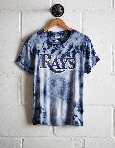 Tailgate Women's Tampa Bay Rays Tie-Dye T-Shirt - Free Returns
