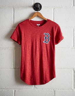 Tailgate Women's Red Sox No Crying In Baseball T-Shirt