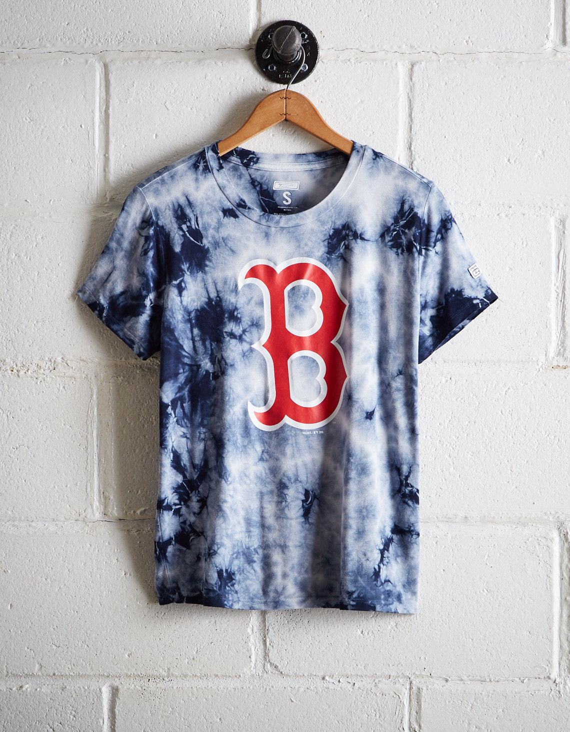 Tailgate Women's Boston Tie-Dye T-Shirt