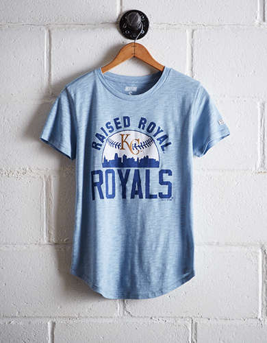 Tailgate Women's Raised Royal T-Shirt - Free Returns