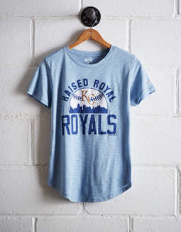 Tailgate Women's Raised Royal T-Shirt