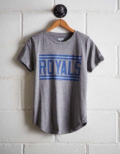 Tailgate Women's Royals Chest Stripe T-Shirt - Free Returns