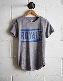 Tailgate Women's Royals Chest Stripe T-Shirt