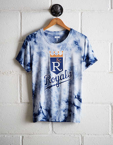 Tailgate Women's KC Royals Tie-Dye T-Shirt - Free Returns