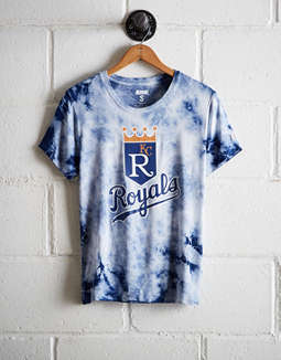 Tailgate Women's KC Royals Tie-Dye T-Shirt