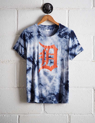 Tailgate Women's Detroit Tigers Tie-Dye T-Shirt - Free Returns