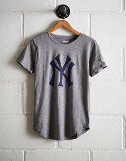 Tailgate Women's Ny Yankees T Shirt by American Eagle Outfitters