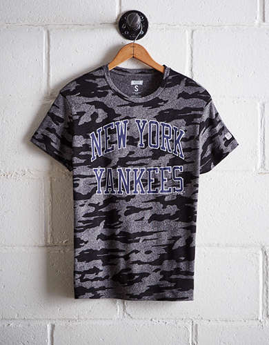 Tailgate Women's New York Yankees Camo Boyfriend Tee - Free Shipping + Free Returns