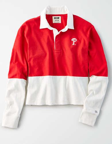 Tailgate Women's Philadelphia Phillies Rugby Shirt
