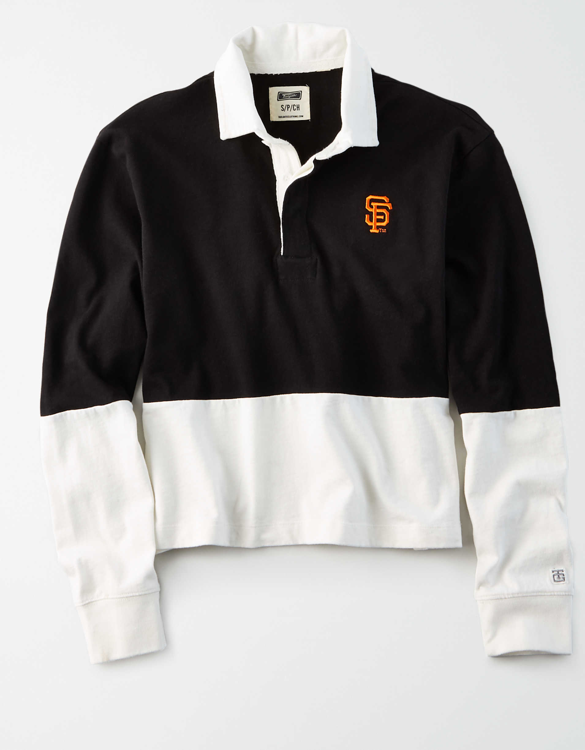 Tailgate Women's SF Giants Rugby Shirt