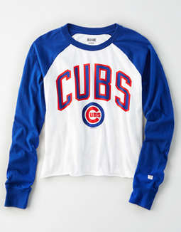 Tailgate Women's Chicago Cubs Baseball Shirt
