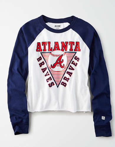 Tailgate Women's Atlanta Braves Baseball Shirt