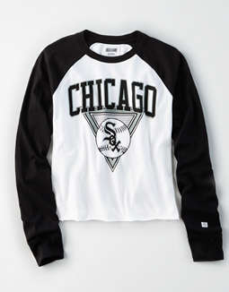 Tailgate Women's Chicago White Sox Baseball Shirt