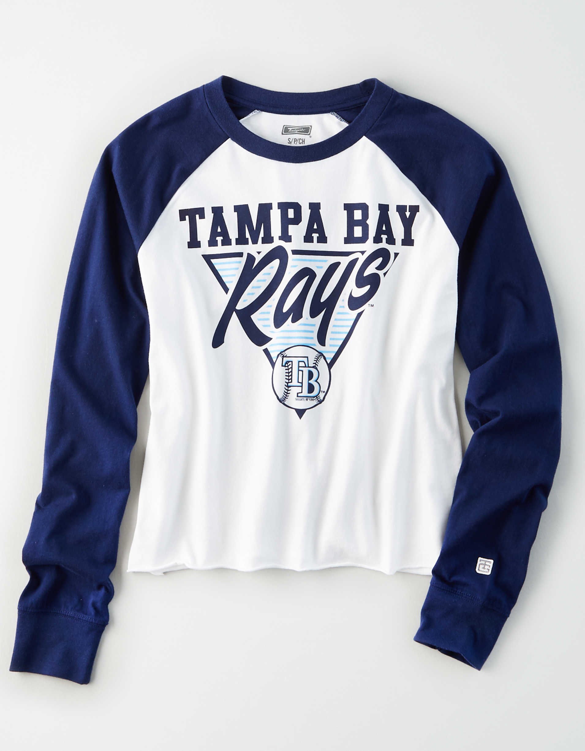 Tailgate Women's Tampa Bay Rays Baseball Shirt