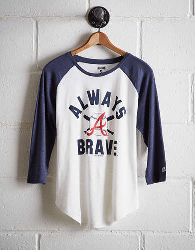 Tailgate Women's Atlanta Braves Baseball Shirt - Buy One Get One 50% Off