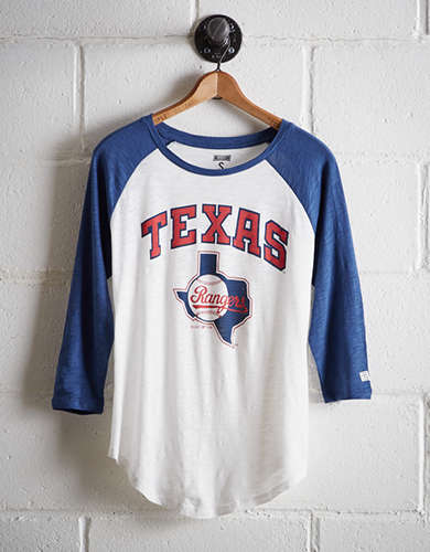 Tailgate Women's Texas Rangers Baseball Shirt - Free Returns