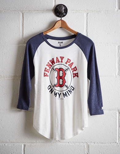 Tailgate Women's Boston Red Sox Baseball Shirt - Free Returns