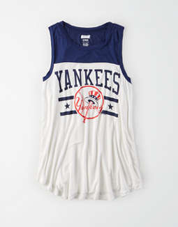 Tailgate Women's NY Yankees Color Block Tank