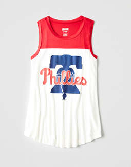 Tailgate Women's Philadelphia Phillies Color Block Tank